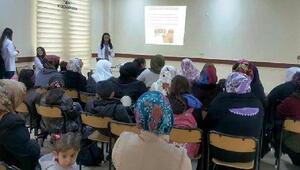 NNYÜ vatandaşlara anne-bebek bakımına yönelik eğitim düzenledi