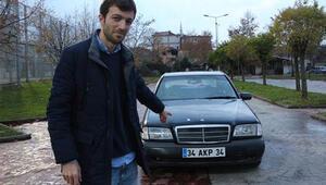Plakası 34 AKP 34... 20 yaşında arabaya öyle bir fiyat biçti ki