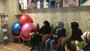 Şanlıurfada anne adayları gebe okulunda