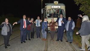 Almanya'da nostaljik tramvayda sıra gecesi