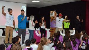 Maraton öğrencilere tanıtıldı