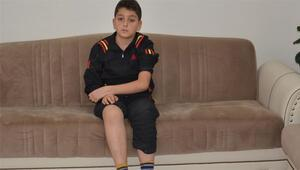 12 yaşındaki Abdülvahid iyileşmek için yurt dışından gelecek ilacı bekliyor