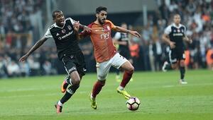 Beşiktaş ile Galatasaray arasındaki rekabet İlk golü...