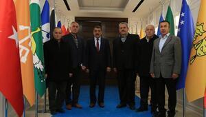 Başkan Gürkan'a ziyaret