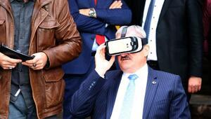 Vali Karaloğlu 3 boyutlu tura çıktı