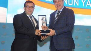 Başkan Türele akıllı kent ödülü