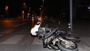 Bağdat Caddesinde sabaha karşı feci kaza