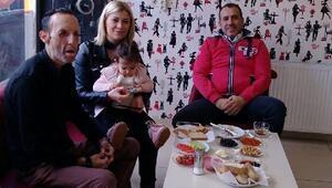 Haluk Levent, borcunu ödediği Recep Serti ziyaret etti