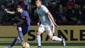 Barcelonaya çelme taktılar Celta Vigo...