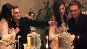 Ünlü çift nişanlandı