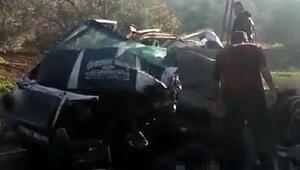 Hatayda katliam gibi kaza: 10 ölü, 7 yaralı