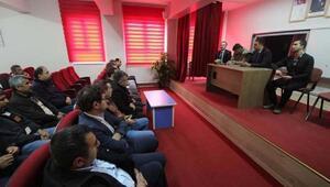 Hasanbeylide öğrenci servisleri ve okul güvenliği toplantısı