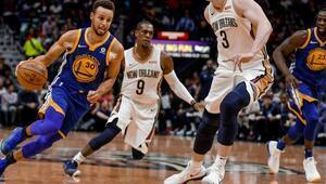 Golden State sonradan açıldı Curry 31 sayı