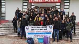 Tunceli'den 632 aday İstanbul ve İzmir'deki üniversiteleri gezdi
