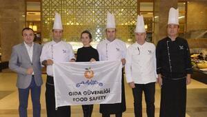 Güvenli gıdanın teminatı beyaz bayrak