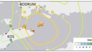 Depremle ilgili çarpıcı ölçüm: Bodrumda deniz tabanı yırtıldı