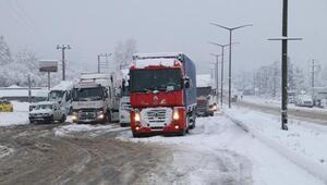 Düzcenin 2 ilçesinde eğitime kar engeli