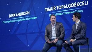 Hyperloop Transportation Technologies CEOsu Dirk Ahlborn İstanbul'daydı