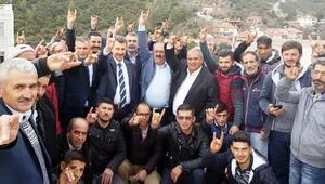 Kavaklıderede 41 kişi MHPye katıldı
