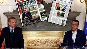 Yunan basını ziyareti yazdı: Erdoğan hücum taktiği izledi