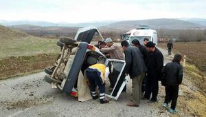 Hasta ziyaretine giden aile kaza yaptı: 1 çocuk öldü, 5 yaralı