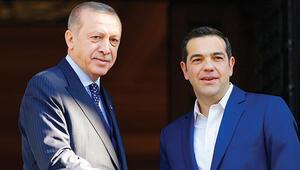 Erdoğan Yunan  manşetlerinde... 'Hücum taktiği'
