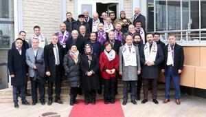 Vakıf Ay ve TOSİAD üyeleri Sivası ziyaret etti