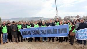 Bursada çevrecilerden termik santral protestosu