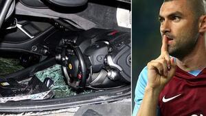 Burak Yılmazın takla attığı Ferrarinin kimin olduğu ortaya çıktı
