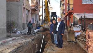 Başkan Çetinkaya: Harmancık'ta tüm alt yapı yenileniyor