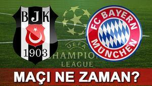 Beşiktaş Bayern Münih Şampiyonlar Ligi maçı ne zaman saat kaçta hangi kanalda canlı yayınlanacak