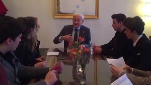 Nobel Kimya Ödülü sahibi Prof. Dr. Frank, Türk öğrencilerle