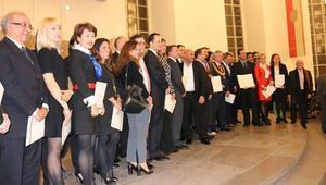 Frankfurt'a katkı sağlayanlara ödül