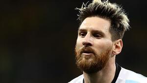 Messinin gözü Dünya Kupasında