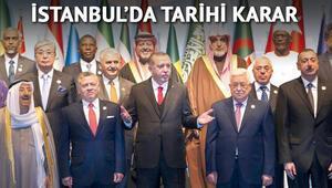 İstanbulda tarihi karar: Doğu Kudüs Filistinin başkentidir