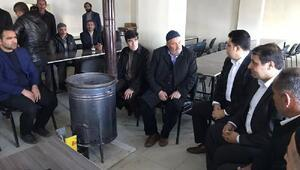 Kaymakam Özcandan Kayan ailesine taziyesi ziyareti