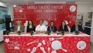 Tavukla Yaratıcı Tarifler Yemek Yarışmasına Türkiyenin dört bir köşesinden tarif yağdı