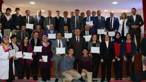 Kırıkkale'de beslenme dostu okullara sertifika verildi