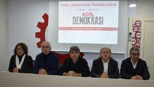 İzmirde OHAL Değil Acil Demokrasi Mitingine OHAL yasağı
