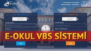 e-Okul girişi nasıl yapılır VBS üzerinden yazılı ve sözlü notu görüntüleme