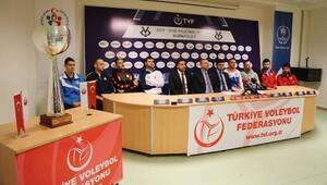 Erkekler Kupa Voley Final Etabının basın toplantısı yapıldı