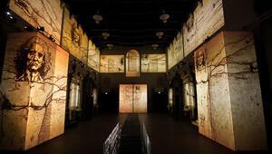 Leonardo Ustanın eskizleri İstanbulda