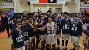 Gaziantep Kolej Vakfı namağlup şampiyon
