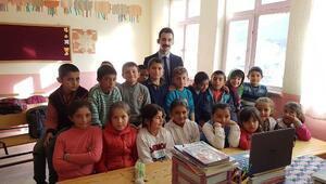 Çamardı Kaymakamı Şan, köyleri ziyaret etti