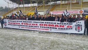 Beşiktaştan Muş İdmanyurdu Kulübüne malzeme desteği