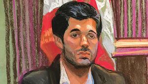 'Yetenekli' Bay Zarrab'ın yedi günü.. Saçı kesti, sakalı kısalttı. İşte Hürriyete özel çizimler