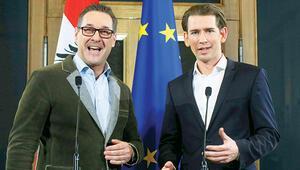 Avusturya'da radikal sağ partili koalisyon