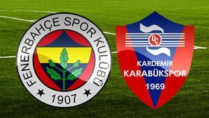 Fenerbahçe Karabükspor maçı bu akşam saat kaçta hangi kanalda Eksikler var