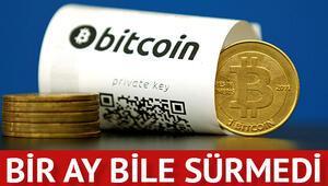 Bitcoin dur durak bilmiyor