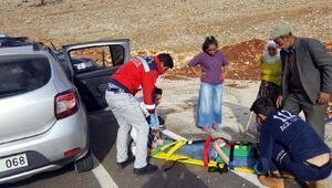 Siirtte trafik kazası: 5 yaralı
